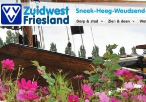 Toeristische website Sneek en Zuidwest Friesland