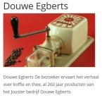 het Douwe Egberts Coffee and Tobacco museum in Joure